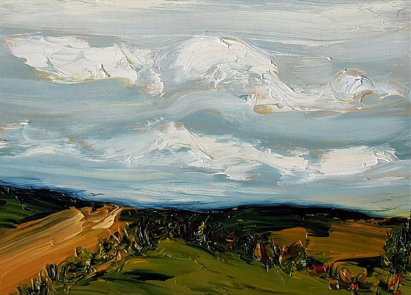 Rolling Fields of Autumn by niki purcell