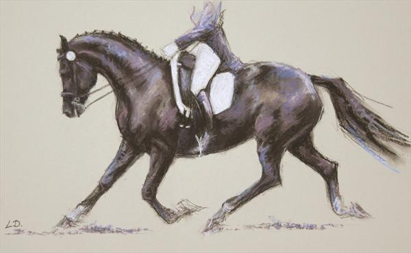 Extended Trot by Lorna Lancaster
