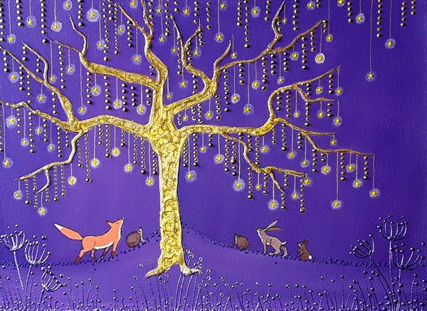 The Golden Star Tree by Angie Livingstone