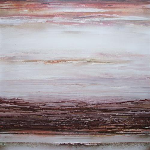 The Wannies Series Earth Tones1a (On Display At the Knapp Gallery, London) by Mike Bell