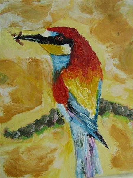 Tropical Bird  by Francoise Booth