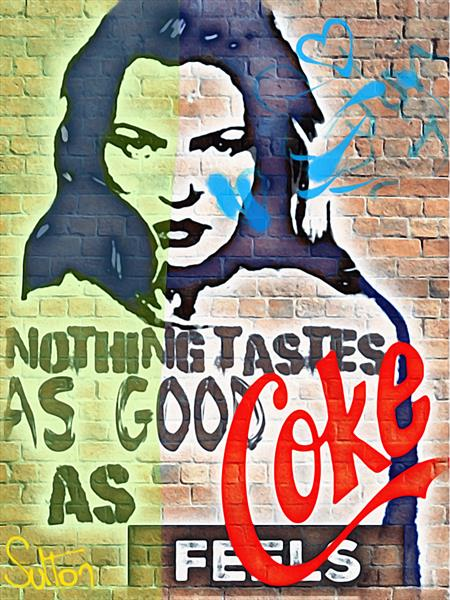 Nothing tastes as good as coke feels by Sara Sutton