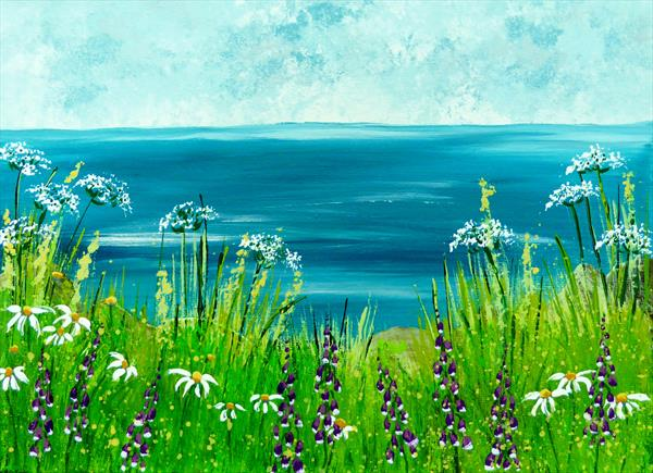 Coastal Blooms by Elaine Allender