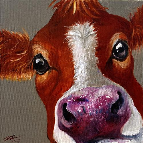 Quirky Cow Cella by Arti Chauhan
