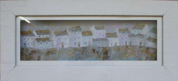Harbourside Cottages by Elaine Allender