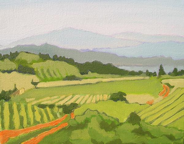 Languedoc Landscape 5 by Paul O' Dell