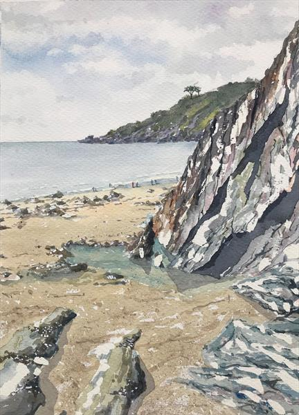 Mothecombe Beach by Peter Blake