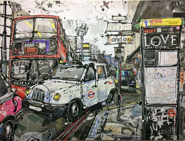 The Strand London by Keith Mcbride