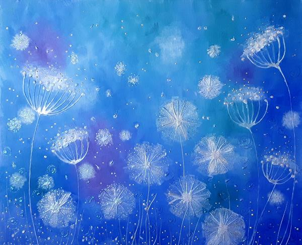 A Dream of Dandelions by Angie Livingstone