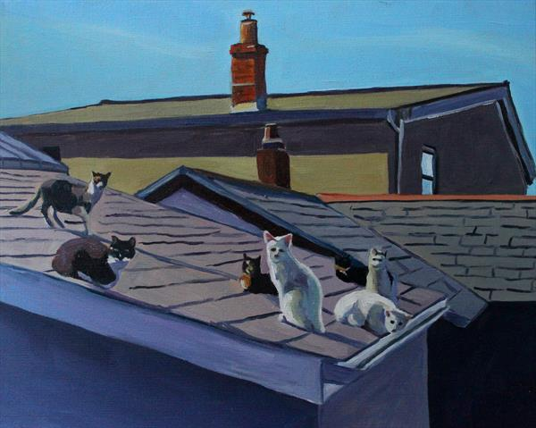 Cats on A Hot Tiled Roof