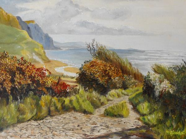 FOOTPATH TO THE SEA by Margaret Riordan