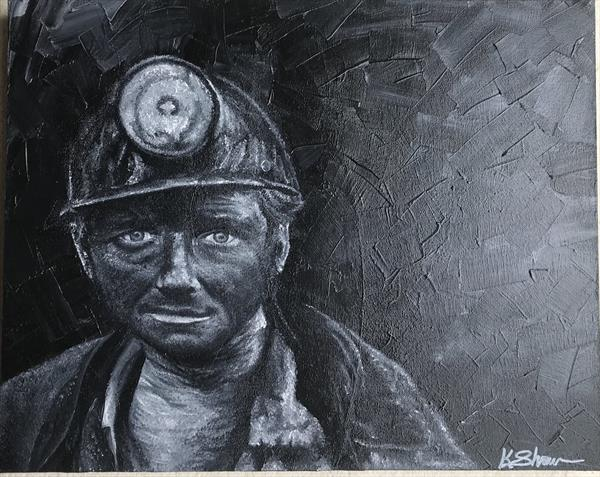 The Coalminer by Karina Shaw