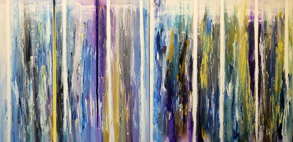 Magnificent And Unusual (Very Large Diptych) by Hester Coetzee