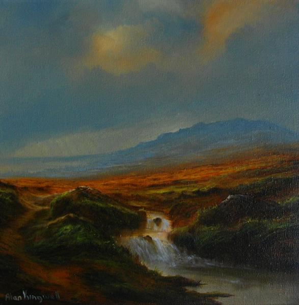 Autumn Moorland by Alan Kingwell