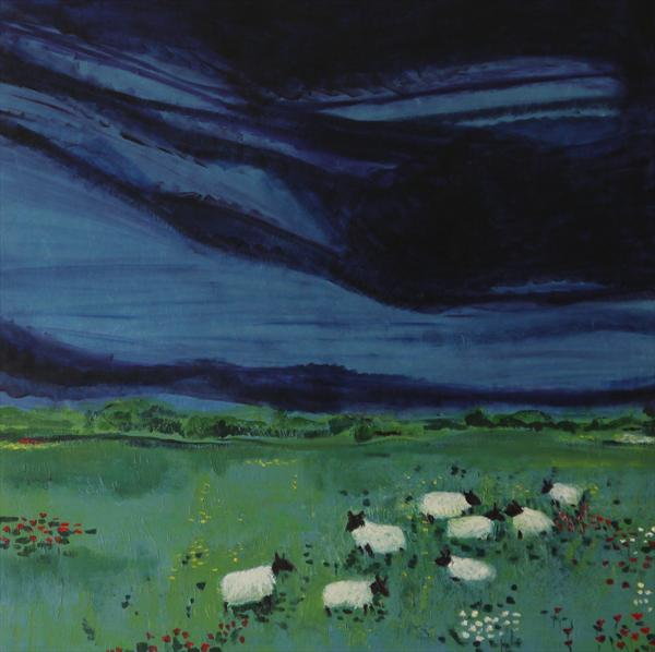 Eight Sheep by Jane Broster