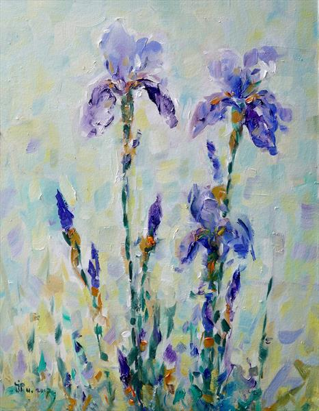 Irises by Ioan Popei