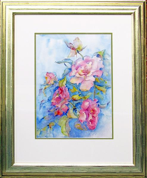 Queen Elizabeth Roses by Jean Simpson