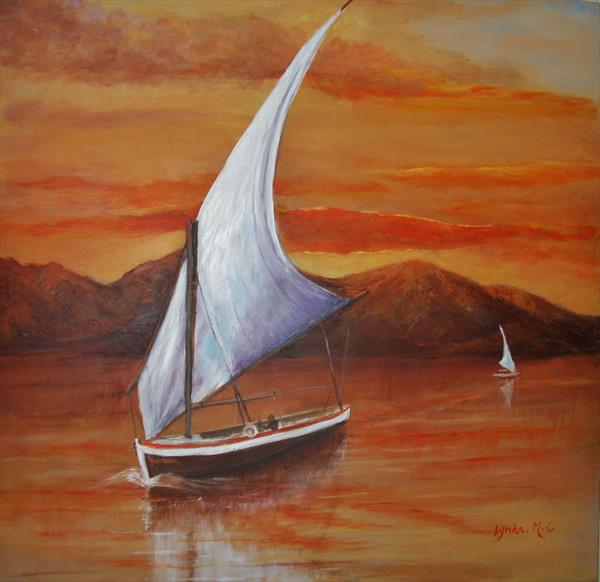 THE WIND IN YOUR SAILS by Lynda Cockshott