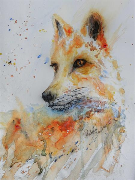 Foxy Lady by Roberta Blackler