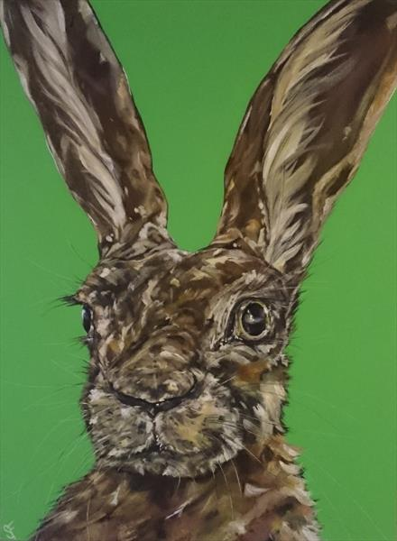 Let Your Hare Down (On display at the Art Gallery, Tetbury)