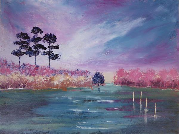 Impressions of Dorset- Brownsea by christine ingram