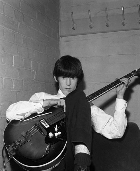 Keith Richards 1964 - Limited Edition by Paul Berriff