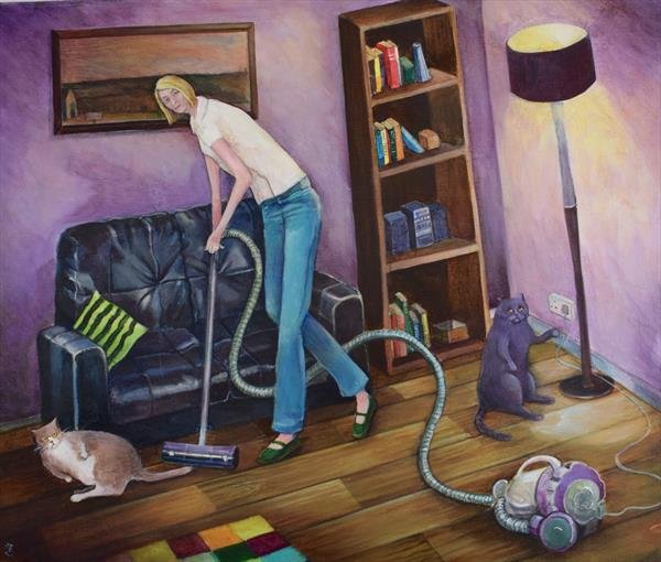 Chores Suck by Victoria Stanway