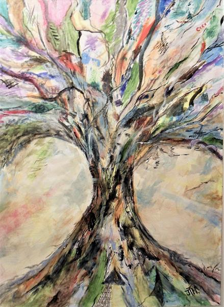 Tree of Discovery.   by Joanne Tharby-Hammond