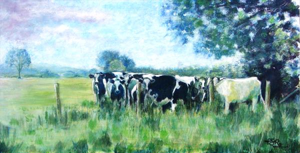 Meadowland - When The Cows Come Home by Theresa  Robinson