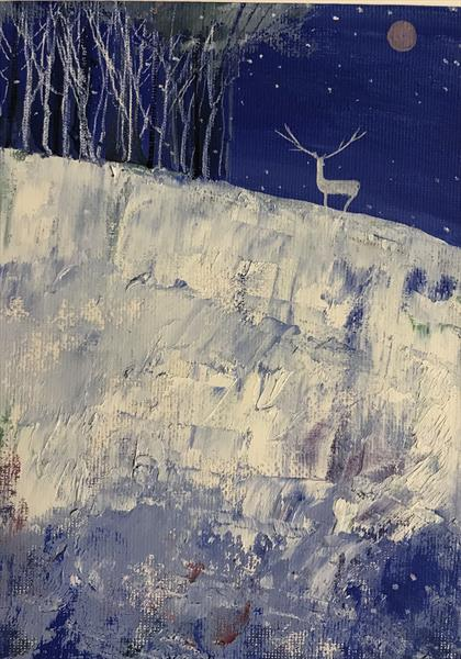 The Snow Stag by Sarah Gill