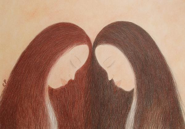 Twins by Claudine Peronne