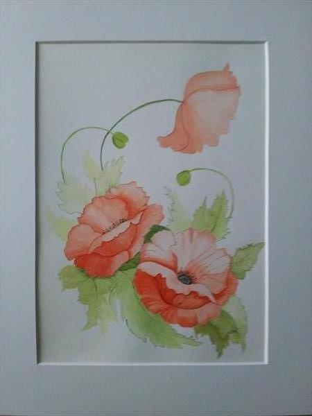 Poppies by Luz Campo de Sanmartin