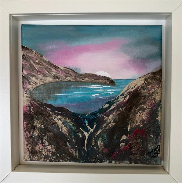Lulworth Cove Contemporary and Textured