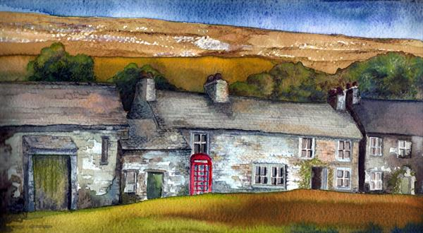 Arncliffe Village by Gary Kitchen