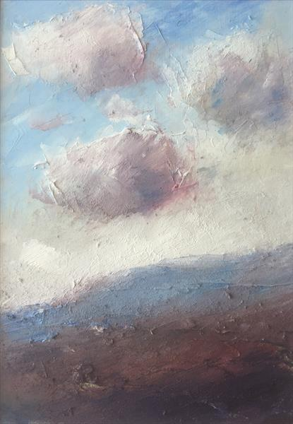 Shower Clouds in the Fading Light by Alan Daysh
