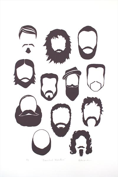Bearded Wonders by Kathryn Edwards