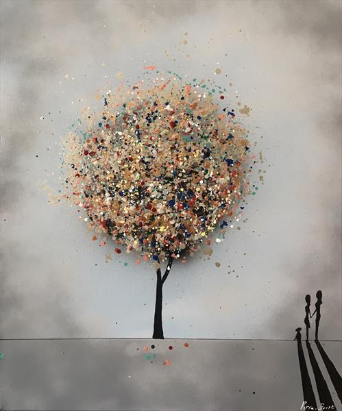 The wishing tree - love  by Pippa Buist