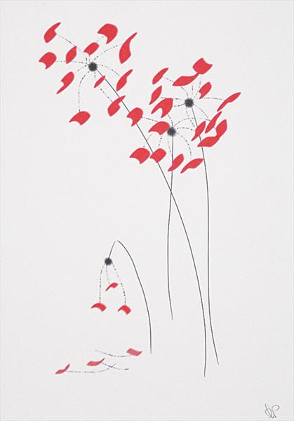 Dying Flower by Ann Mcphillips