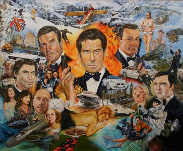 BOND, JAMES BOND by PETER GOODHALL