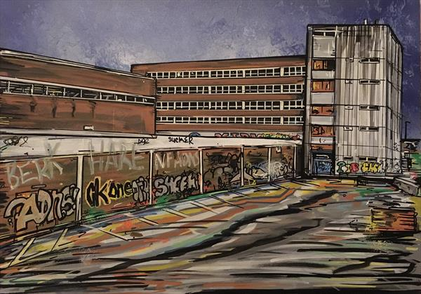 Abandoned building - Bedminster by John Curtis