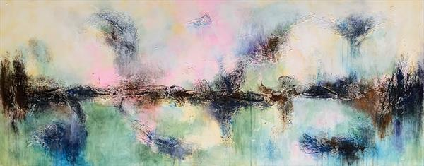 """59x 23,5""""( 150x60cm), Magnificent Earth 18 by Veronica Vilsan"""