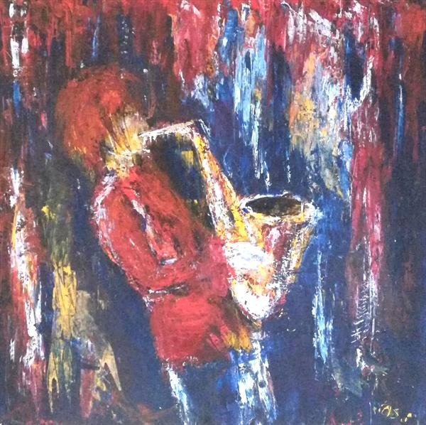 Saxophone by Beata Harasim