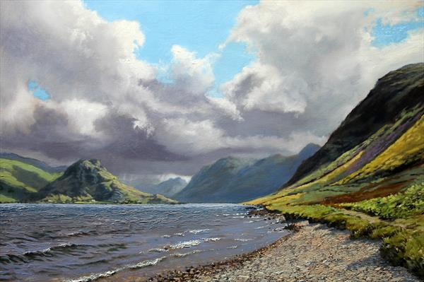 Crummock Water by David Barber
