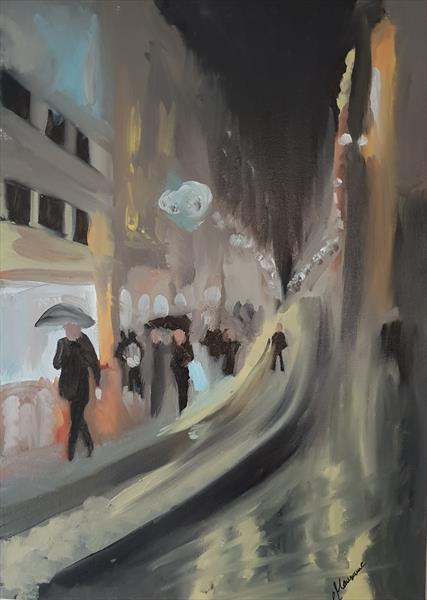 Streets of Istanbul by Reem Mausawe