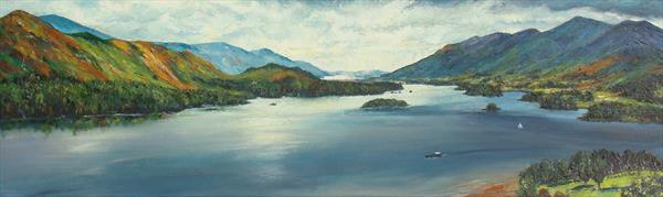 Derwentwater And Catbells by Sheila Vickers