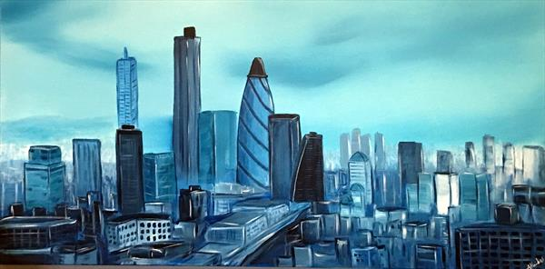 London Cityscape by Aisha Haider