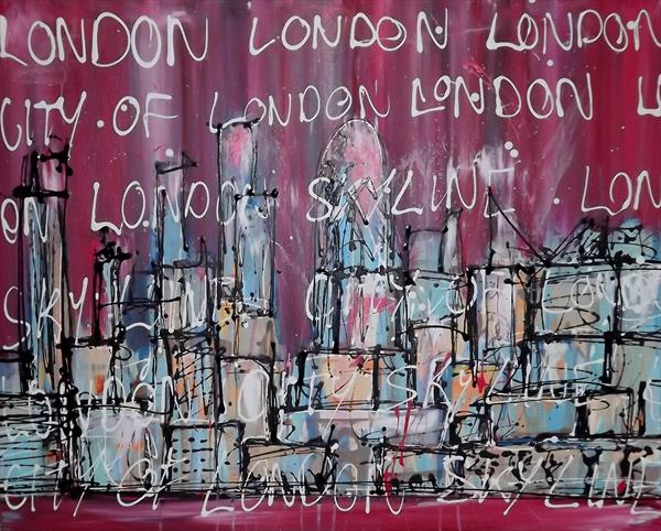 CITY OF LONDON by Keith Mcbride