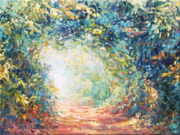 Journey (on display at The Art Gallery, Tetbury)