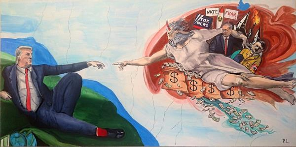 The Creation of Donald Trump by Patrick Lee