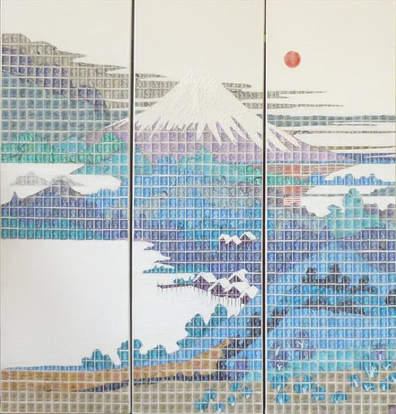 Tribute to Hokusai